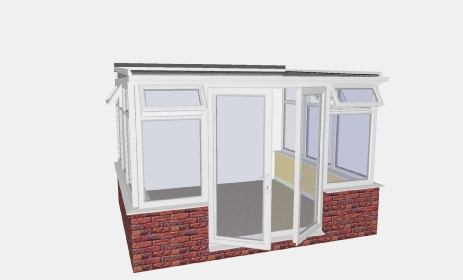 diy lean to conservatories uk supply only sunroom conservatory uk